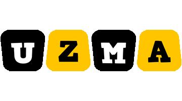 Uzma boots logo