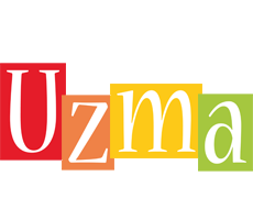Uzma colors logo