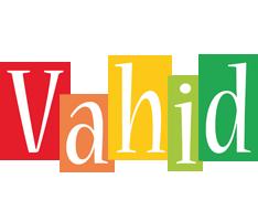 Vahid colors logo