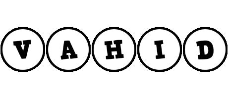 Vahid handy logo