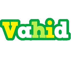 Vahid soccer logo