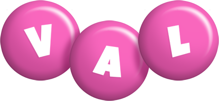 Val candy-pink logo