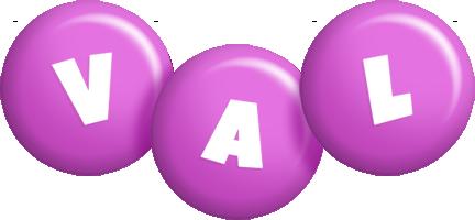 Val candy-purple logo