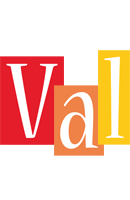 Val colors logo