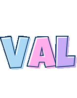 Val pastel logo