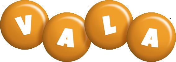 Vala candy-orange logo