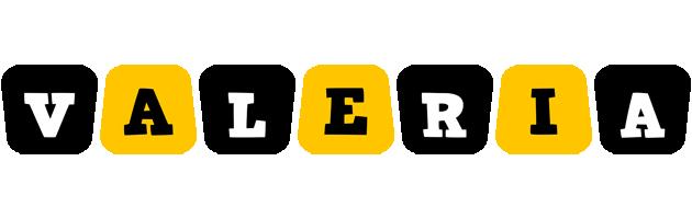 Valeria boots logo