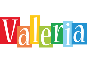 Valeria colors logo