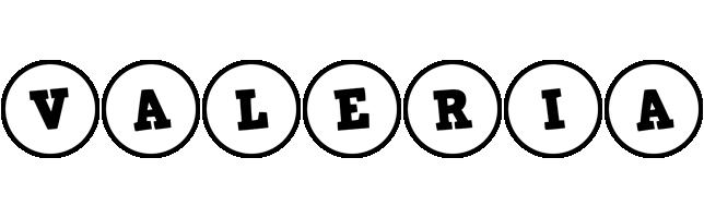 Valeria handy logo