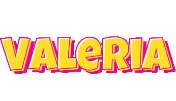 Valeria kaboom logo
