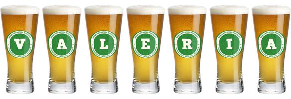 Valeria lager logo
