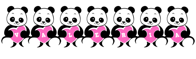 Valeria love-panda logo