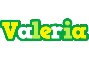 Valeria soccer logo