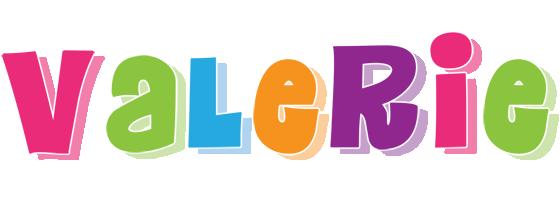 Valerie friday logo