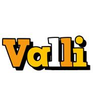 Valli cartoon logo