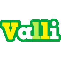 Valli soccer logo