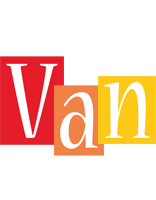 Van colors logo
