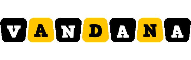 Vandana boots logo