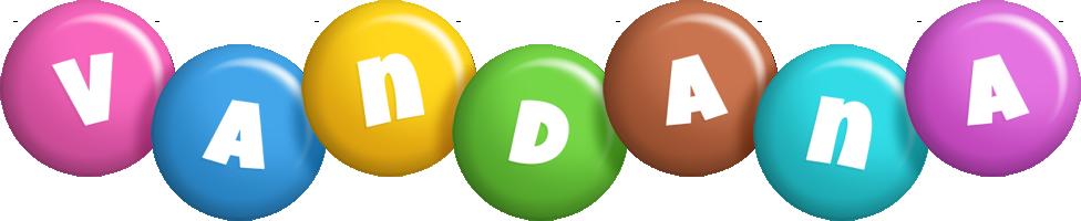 Vandana candy logo