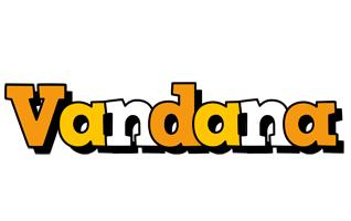 Vandana cartoon logo