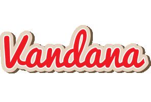 Vandana chocolate logo