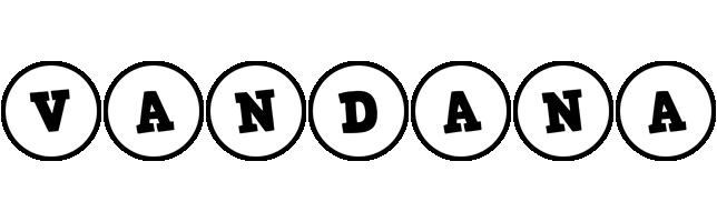 Vandana handy logo