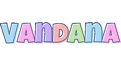 Vandana pastel logo