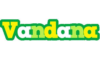 Vandana soccer logo