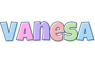 Vanesa pastel logo