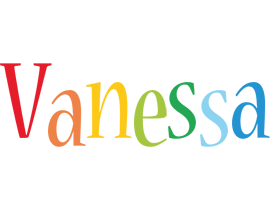Vanessa birthday logo