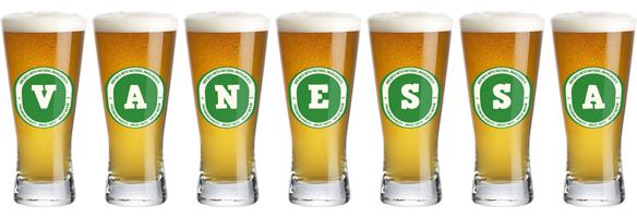 Vanessa lager logo