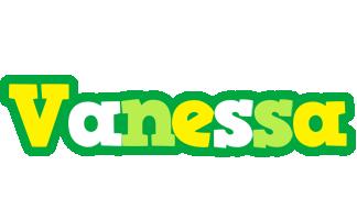Vanessa soccer logo