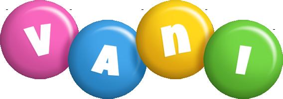 Vani candy logo