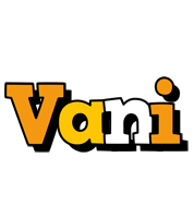 Vani cartoon logo