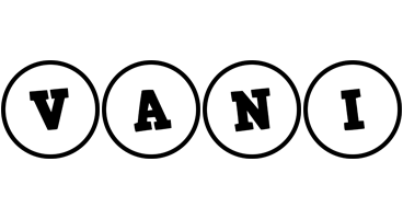 Vani handy logo