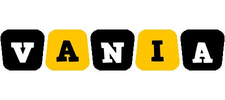 Vania boots logo