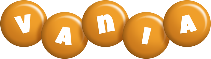 Vania candy-orange logo