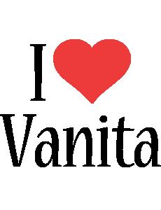 Vanita i-love logo