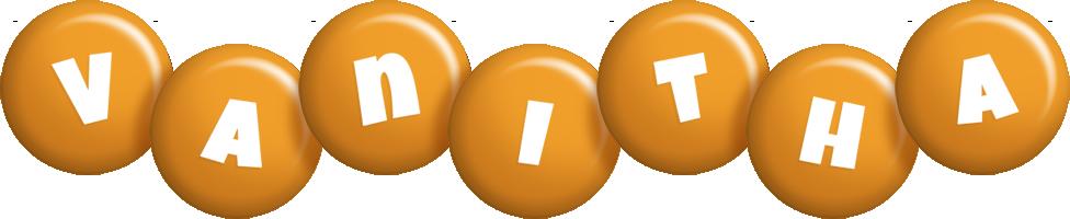 Vanitha candy-orange logo