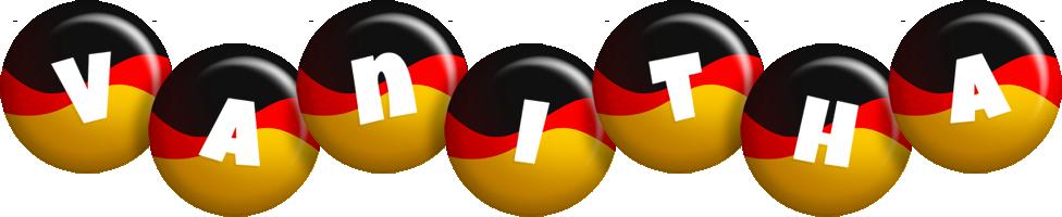 Vanitha german logo