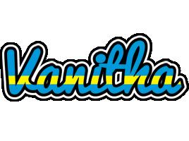 Vanitha sweden logo