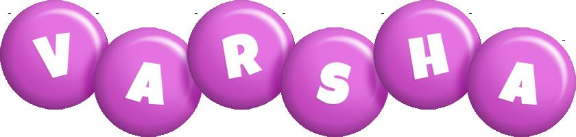 Varsha candy-purple logo