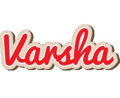 Varsha chocolate logo