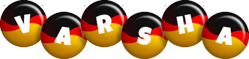Varsha german logo