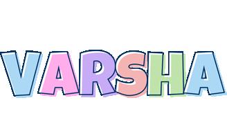 Varsha pastel logo