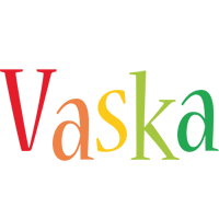 Vaska birthday logo