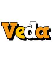 Veda cartoon logo