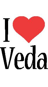 Veda i-love logo