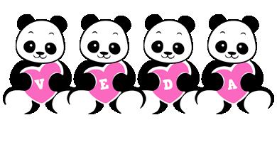 Veda love-panda logo