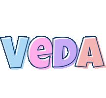 Veda pastel logo